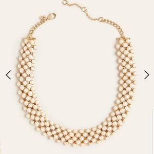 NWT Ann Taylor Luxe Pearlized Necklace
